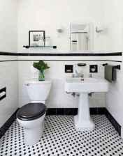 60+ beautiful vintage powder room ideas (52)