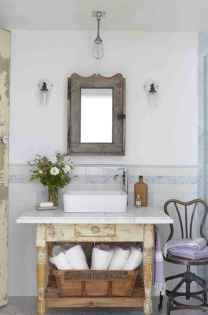60+ beautiful vintage powder room ideas (8)