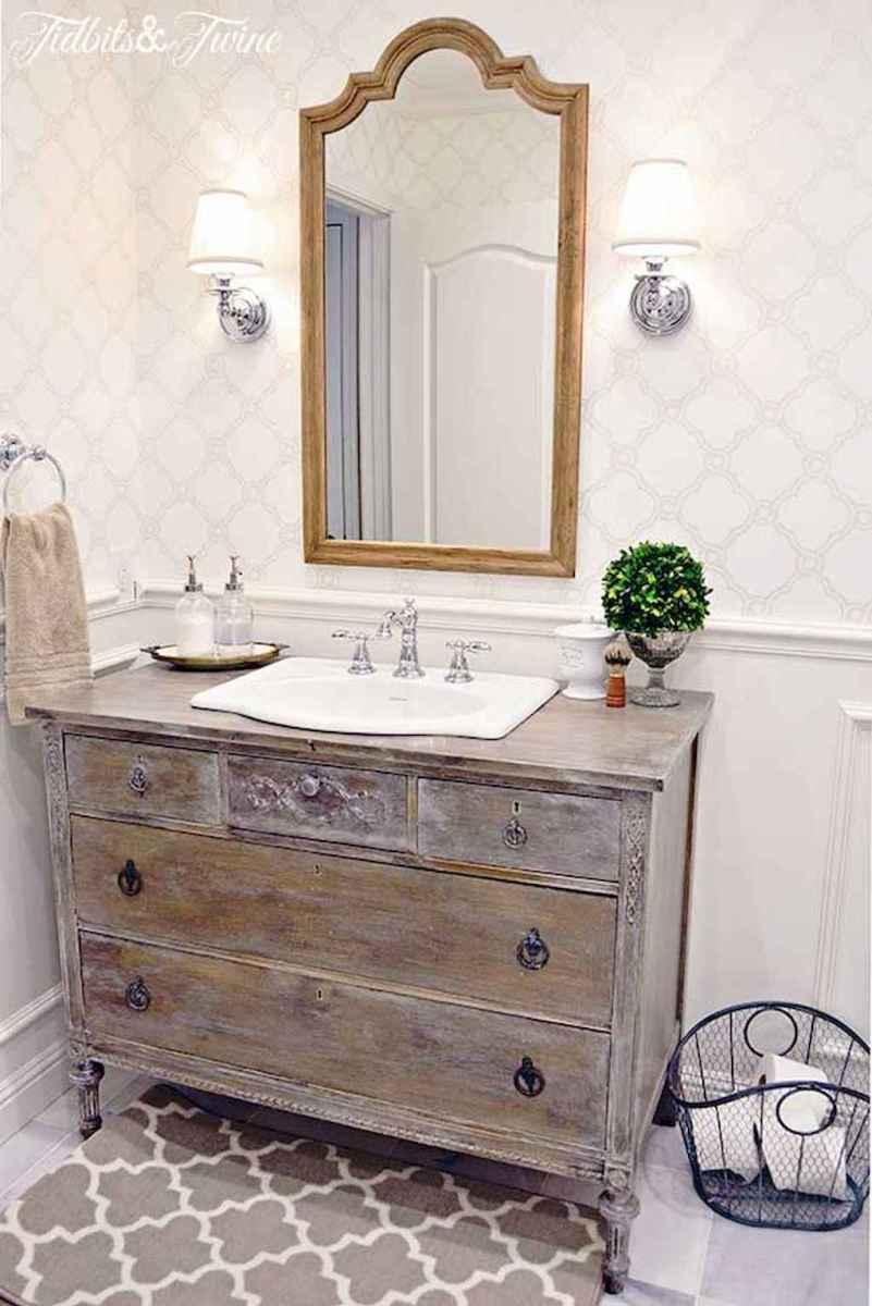 60+ beautiful vintage powder room ideas (9)
