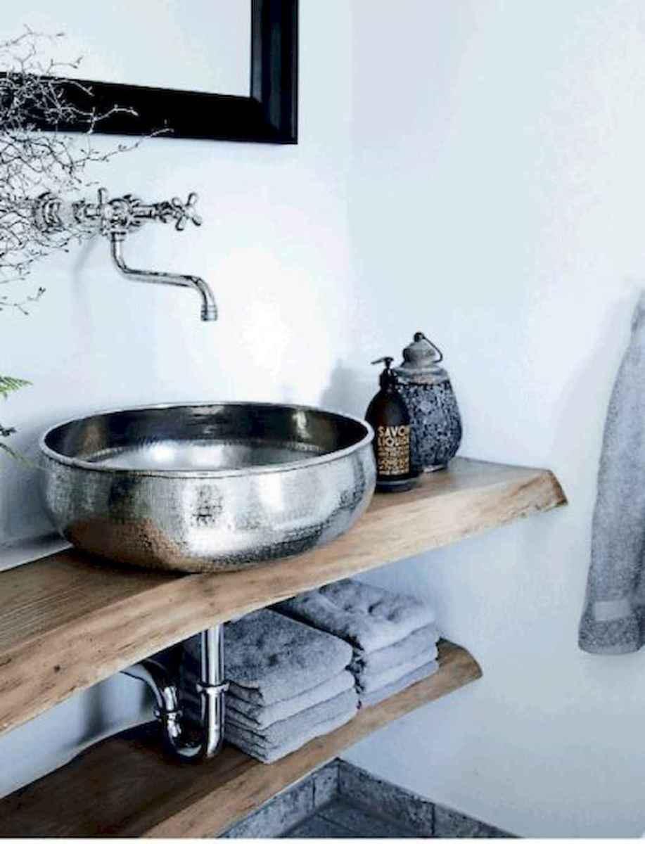 60 cool rustic powder room design ideas (20)