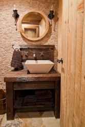 60 cool rustic powder room design ideas (55)