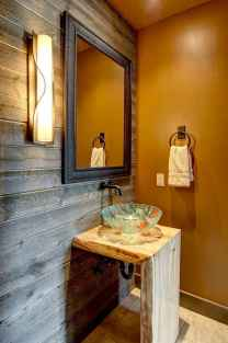 60 cool rustic powder room design ideas (6)