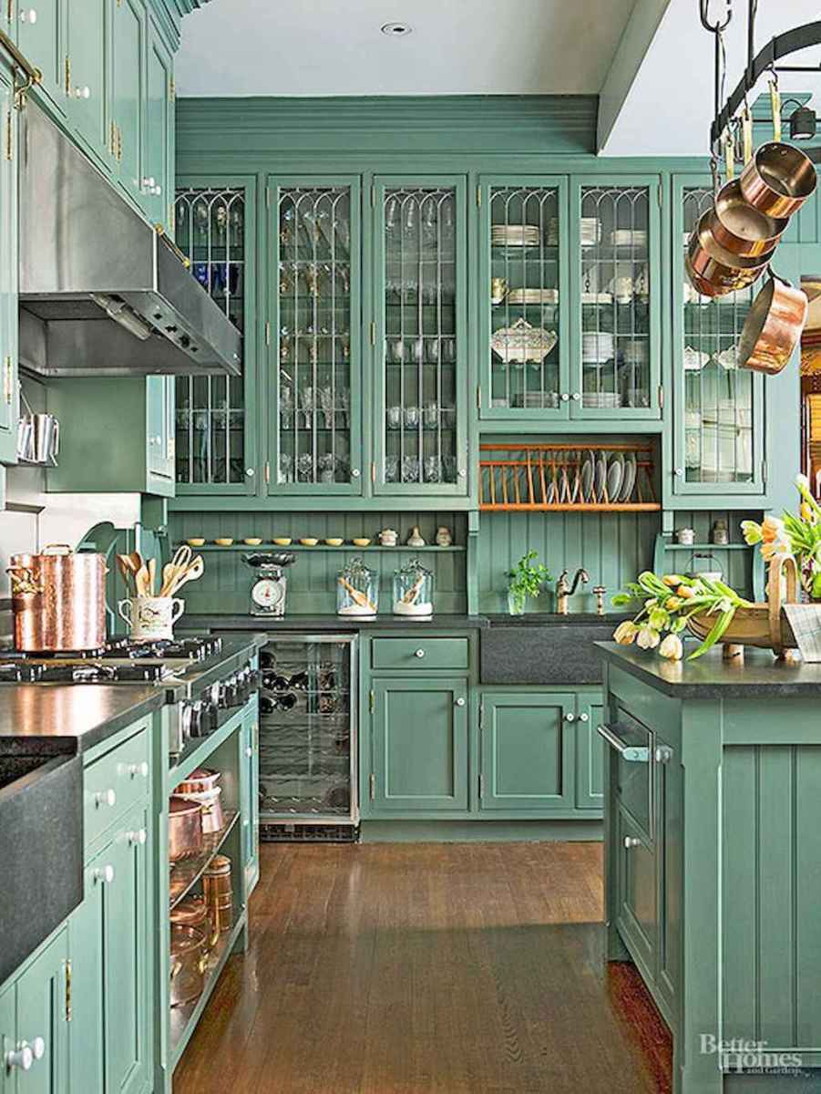 60 great vintage design ideas for your kitchen (13)