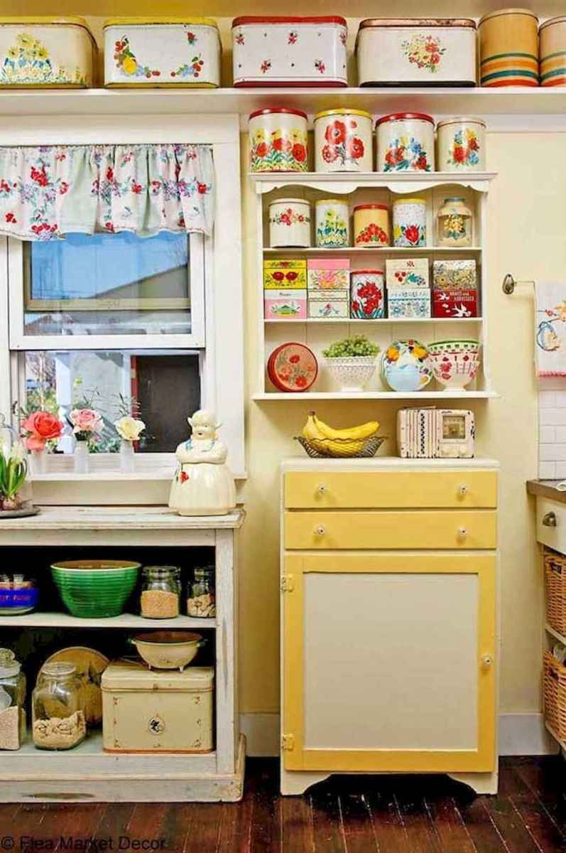 60 great vintage design ideas for your kitchen (14)