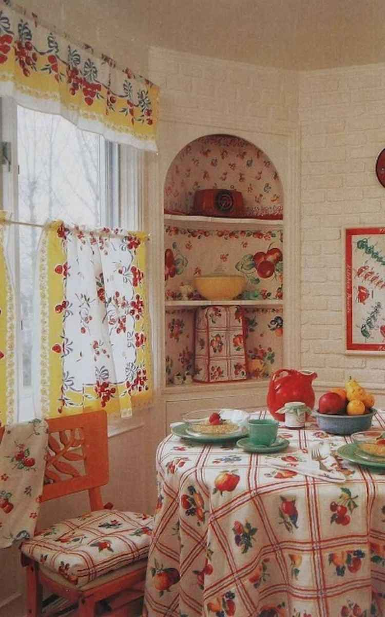 60 great vintage design ideas for your kitchen (19)