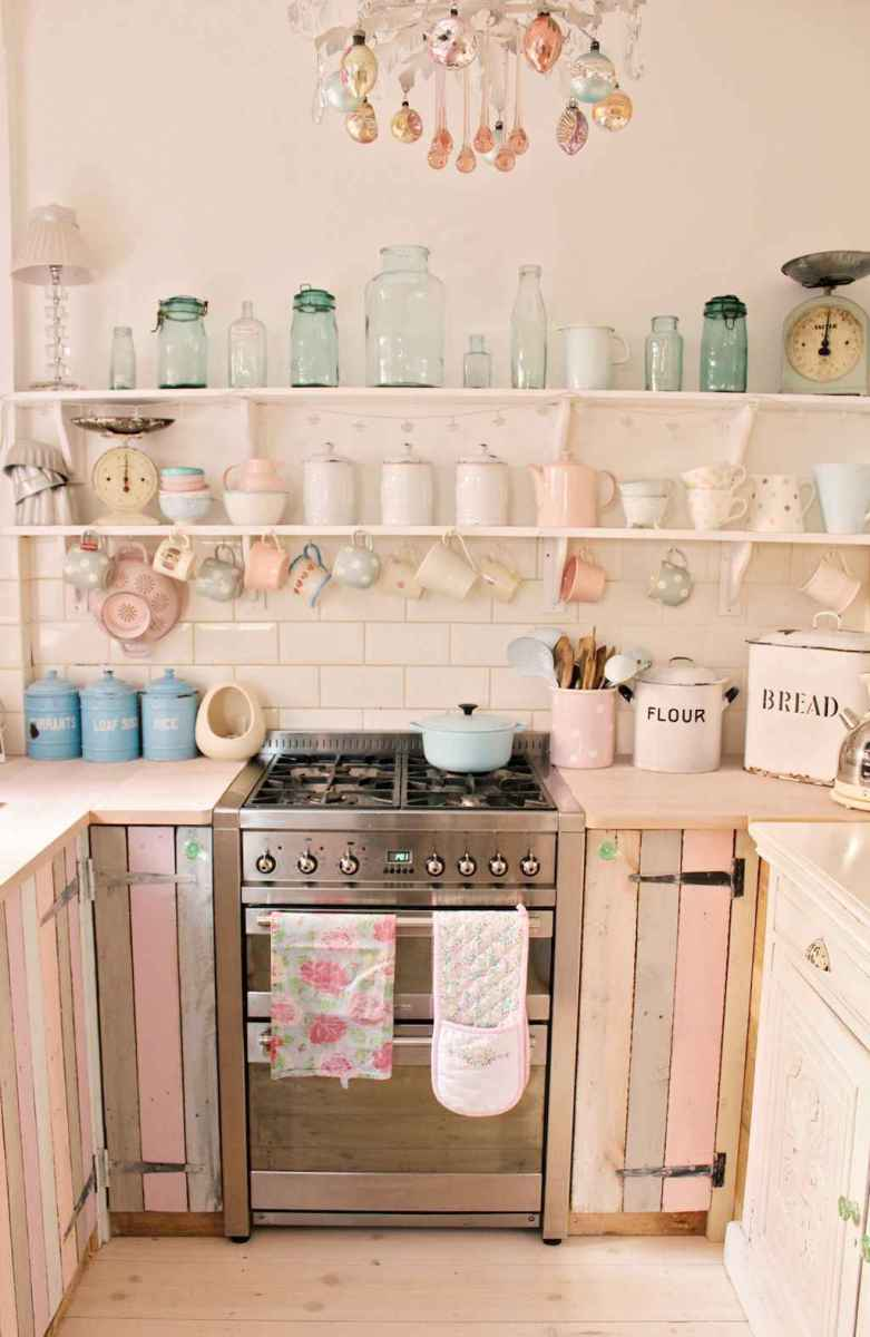 60 great vintage design ideas for your kitchen (20)