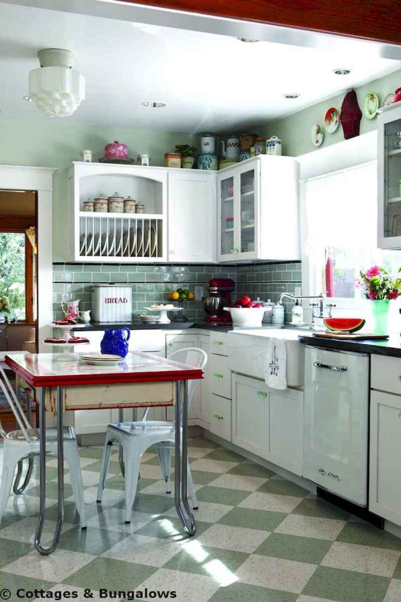 60 great vintage design ideas for your kitchen (36)