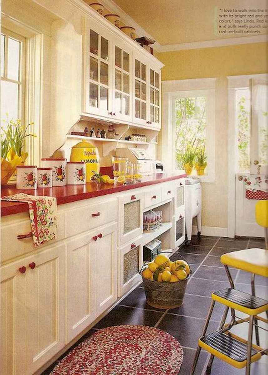 60 great vintage design ideas for your kitchen (40)