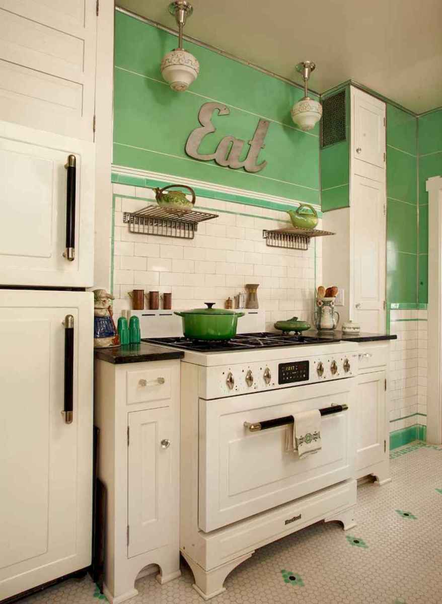 60 great vintage design ideas for your kitchen (42)