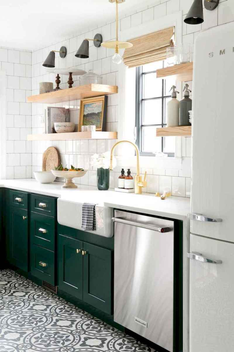 60 great vintage design ideas for your kitchen (51)
