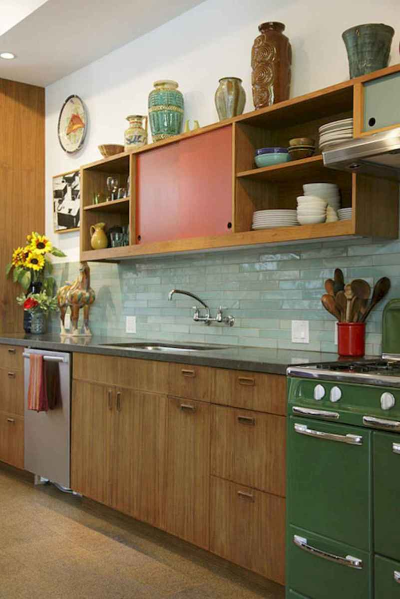 60 great vintage design ideas for your kitchen (52)