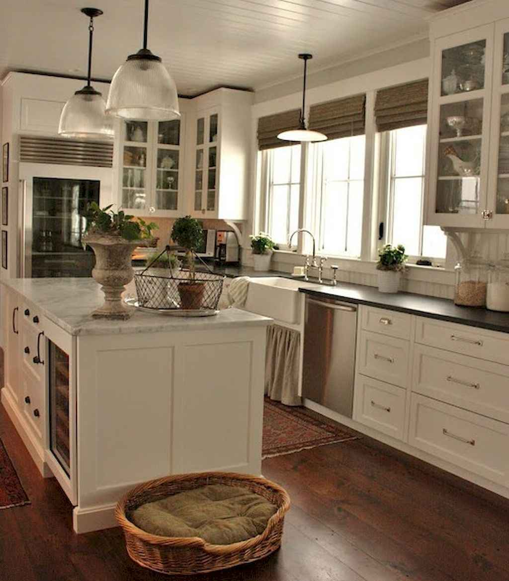 60 great vintage design ideas for your kitchen (53)