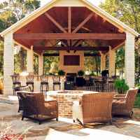 60 smart ideas for outdoor kitchens (43)