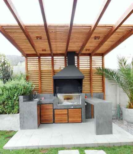 60 smart ideas for outdoor kitchens (50)