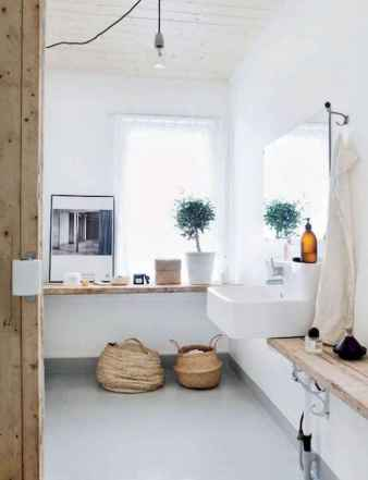 60 stunning scandinavian bathroom decor & design ideas to inspire you (12)