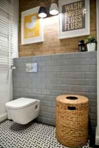 60 stunning scandinavian bathroom decor & design ideas to inspire you (18)