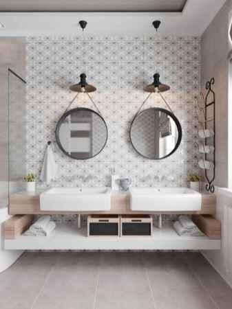 60 stunning scandinavian bathroom decor & design ideas to inspire you (38)