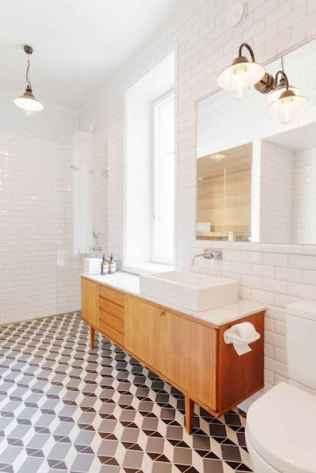 60 stunning scandinavian bathroom decor & design ideas to inspire you (56)