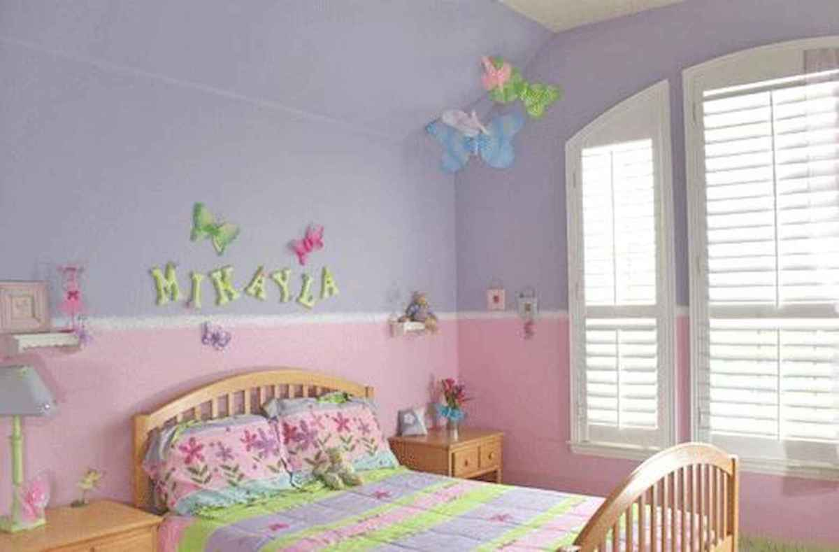 Beautiful decor bedroom for girls (15)