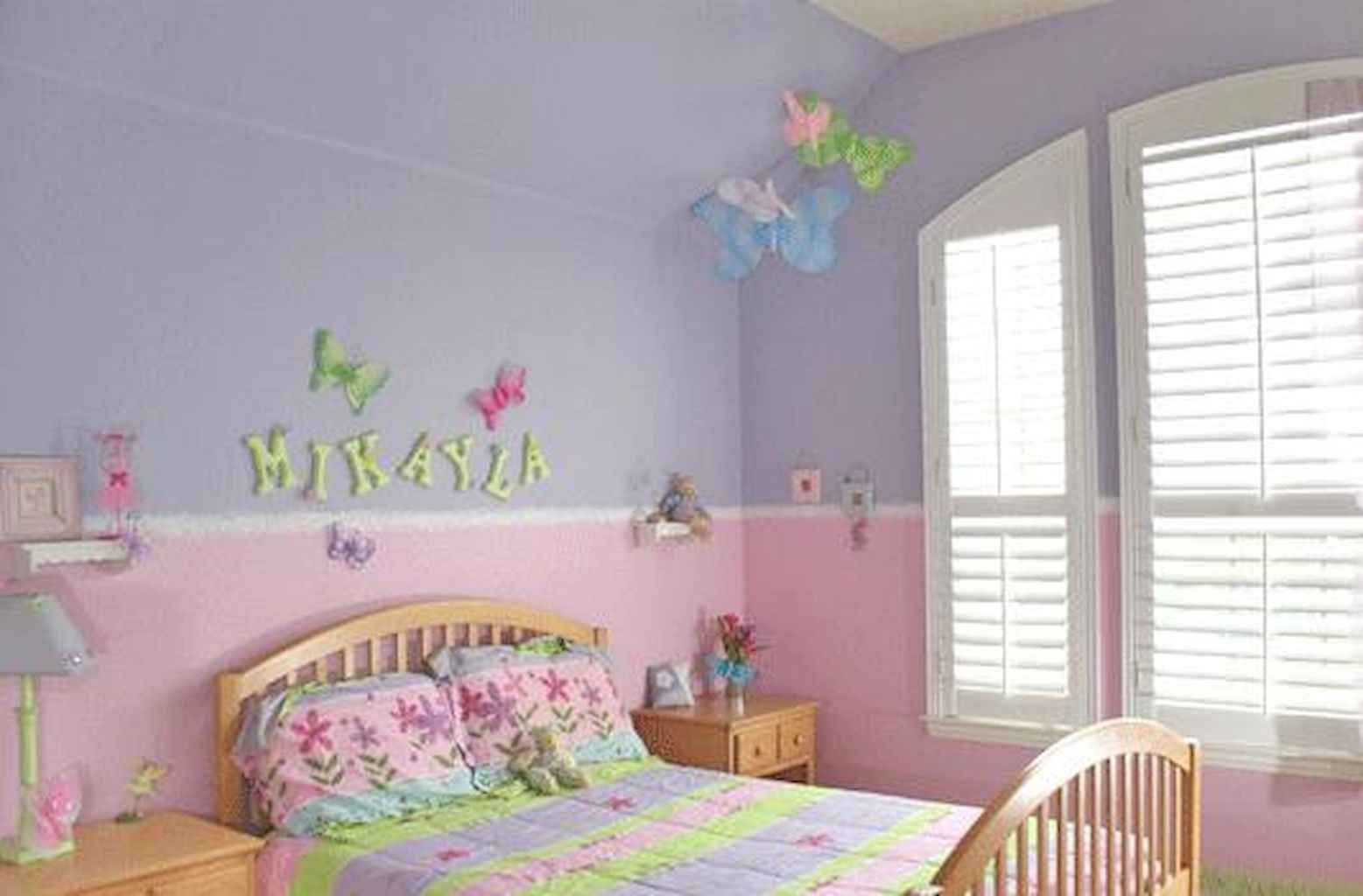 Beautiful decor bedroom for girls (15)