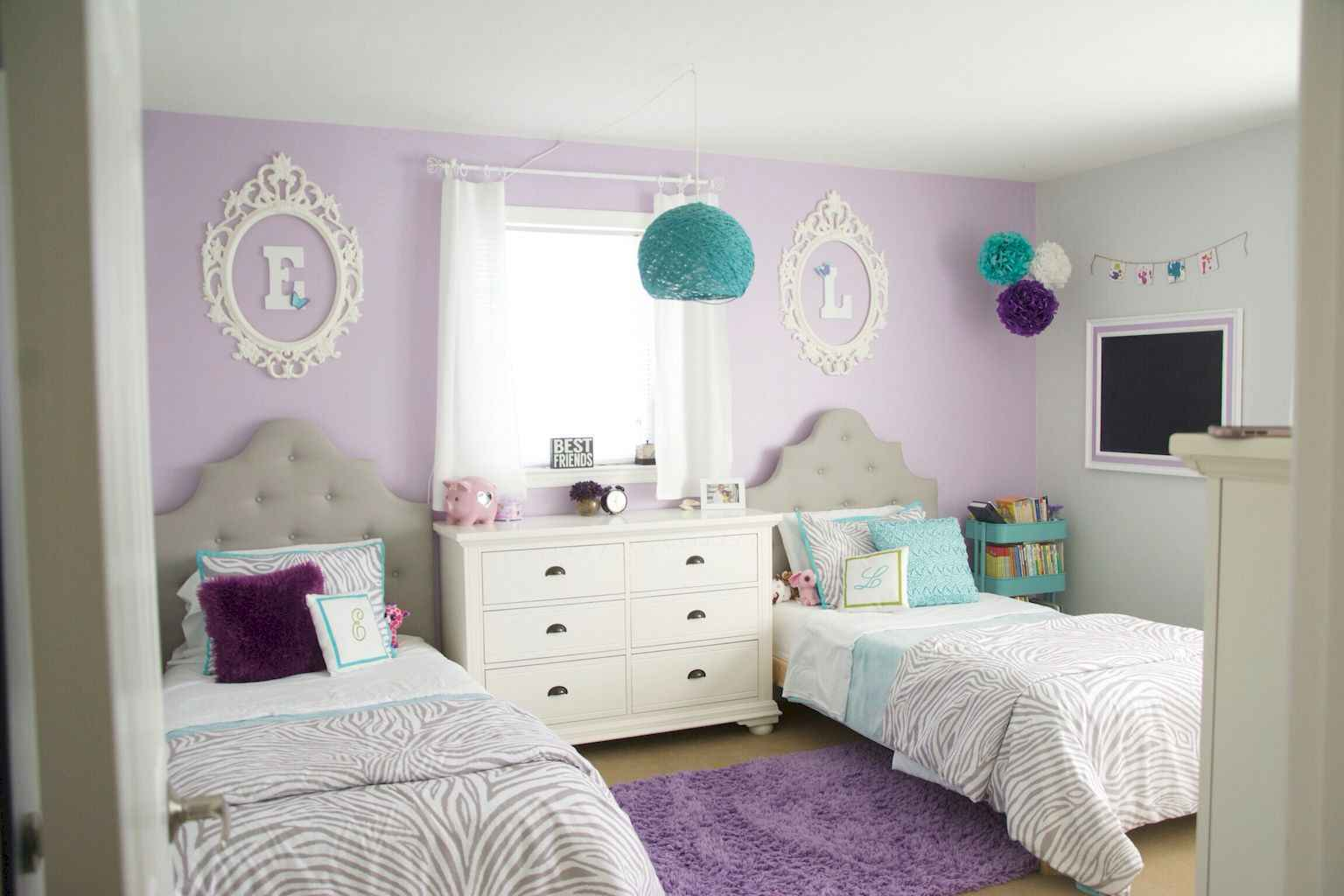 Beautiful decor bedroom for girls (22)