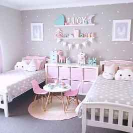 Beautiful decor bedroom for girls (40)