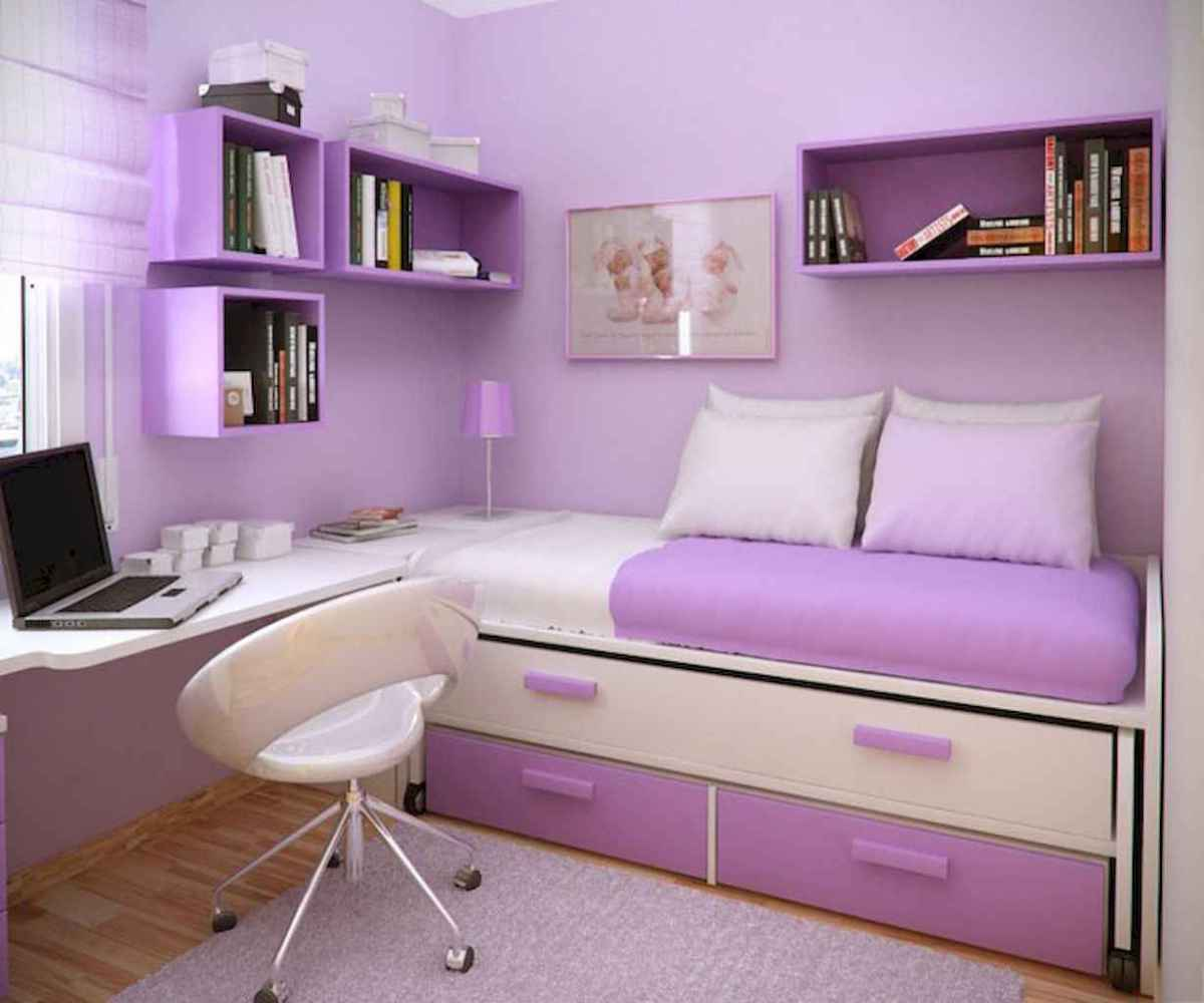 Beautiful decor bedroom for girls (47)