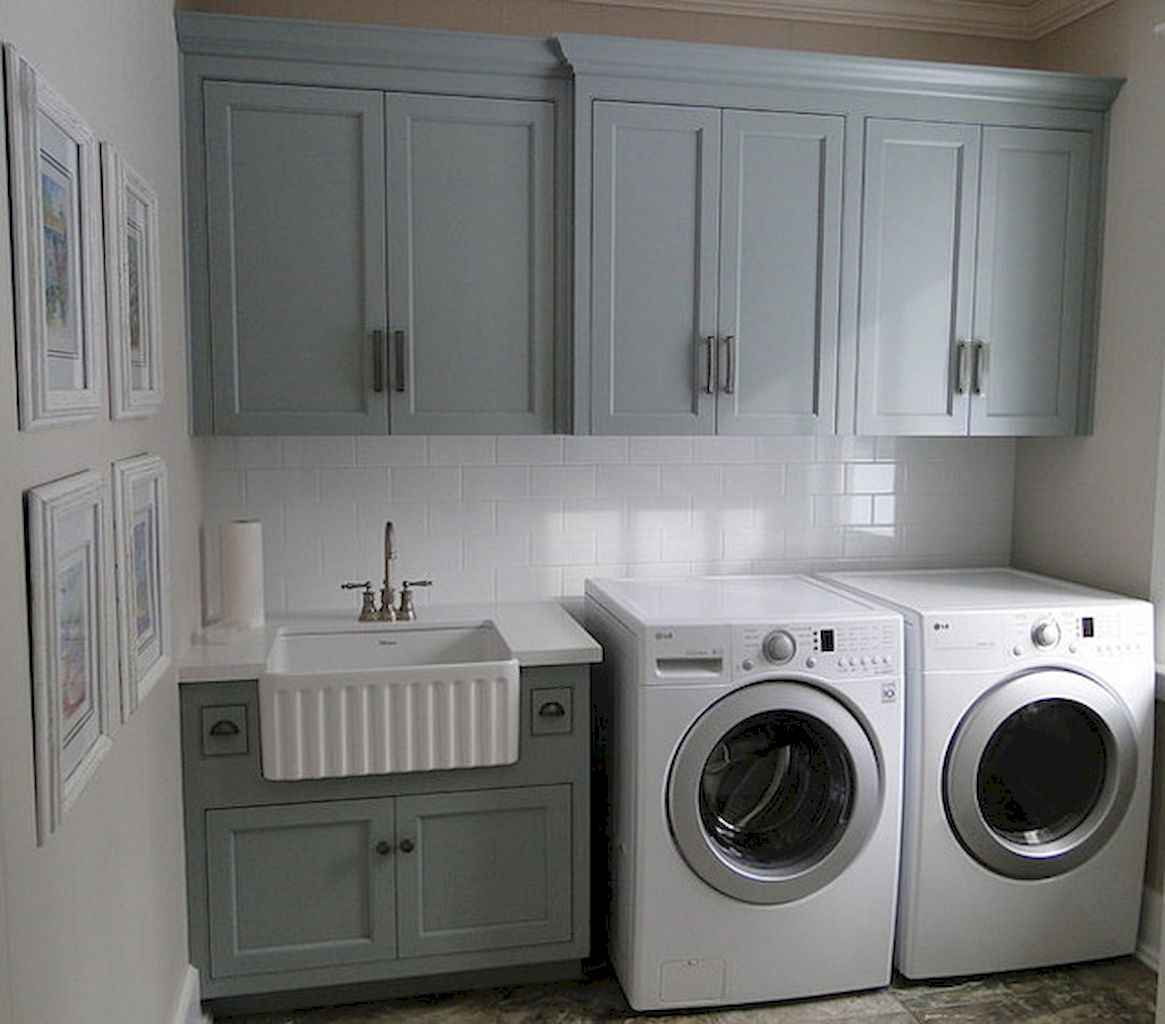 Beautiful and simple laundry room ideas (15)