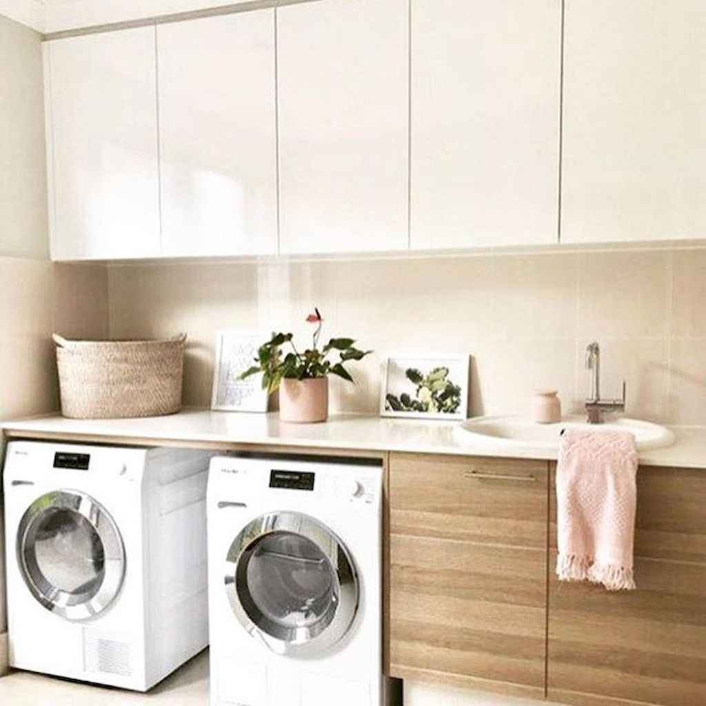 Beautiful and simple laundry room ideas (60)