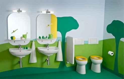 Best inspired kids bathroom ideas (18)