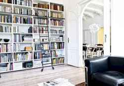 Cool home library design ideas (26)