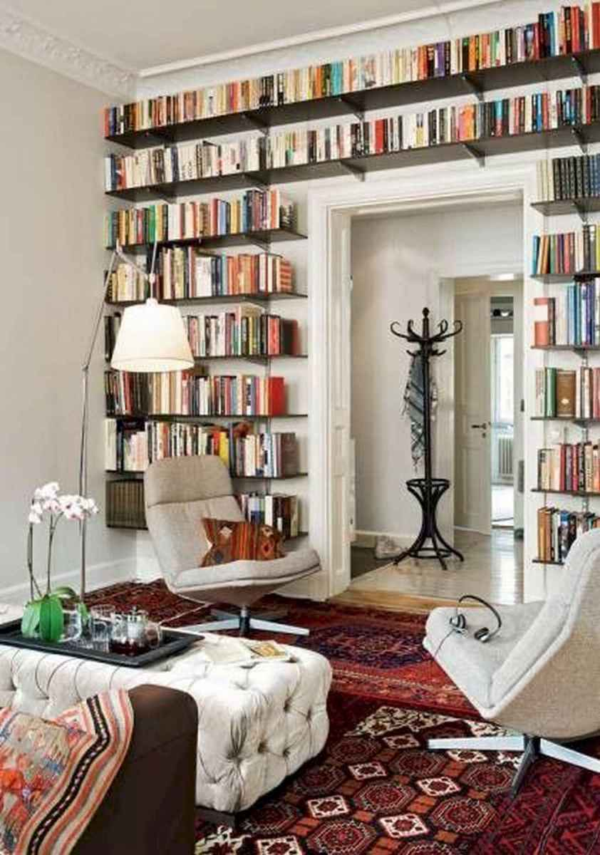 Cool home library design ideas (27)