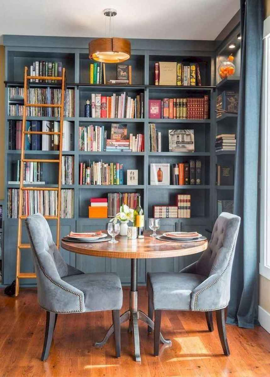 Cool home library design ideas (30)
