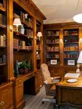Cool home library design ideas (38)