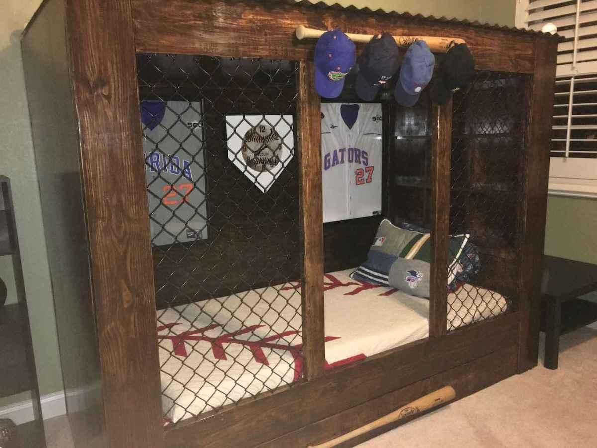 Cool sport bedroom ideas for boys (14)
