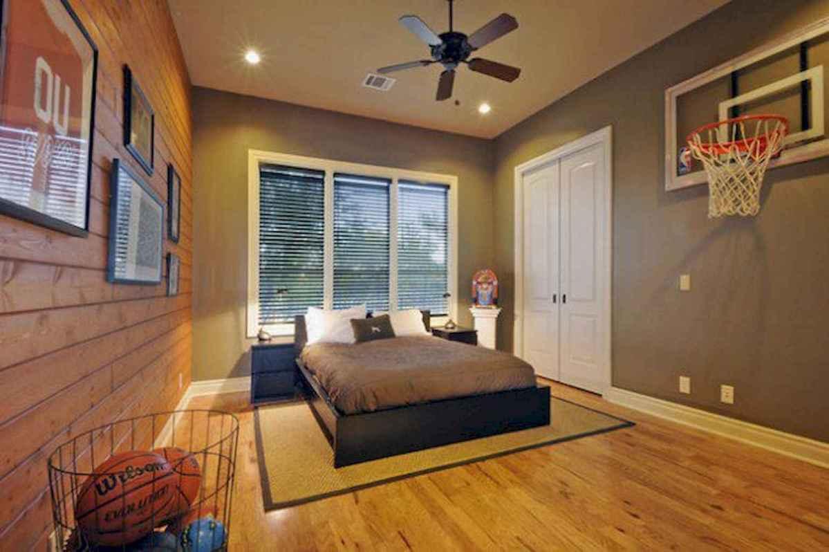 Cool sport bedroom ideas for boys (18)