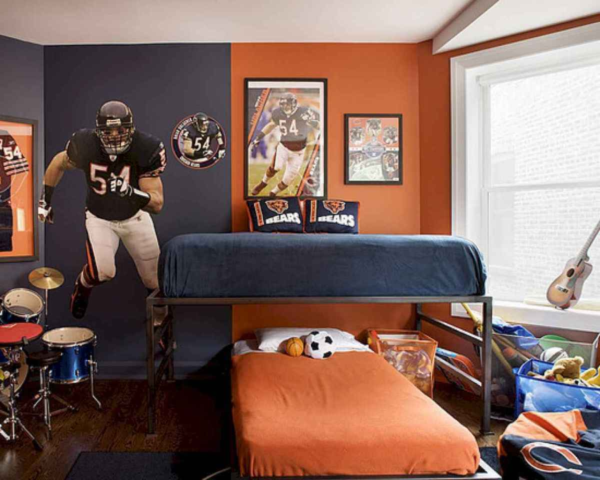Cool sport bedroom ideas for boys (21)