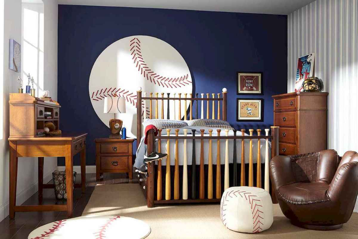 Cool sport bedroom ideas for boys (29)