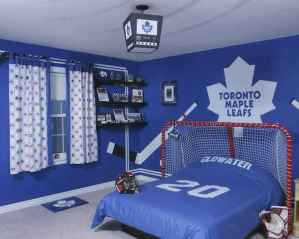 Cool sport bedroom ideas for boys (38)
