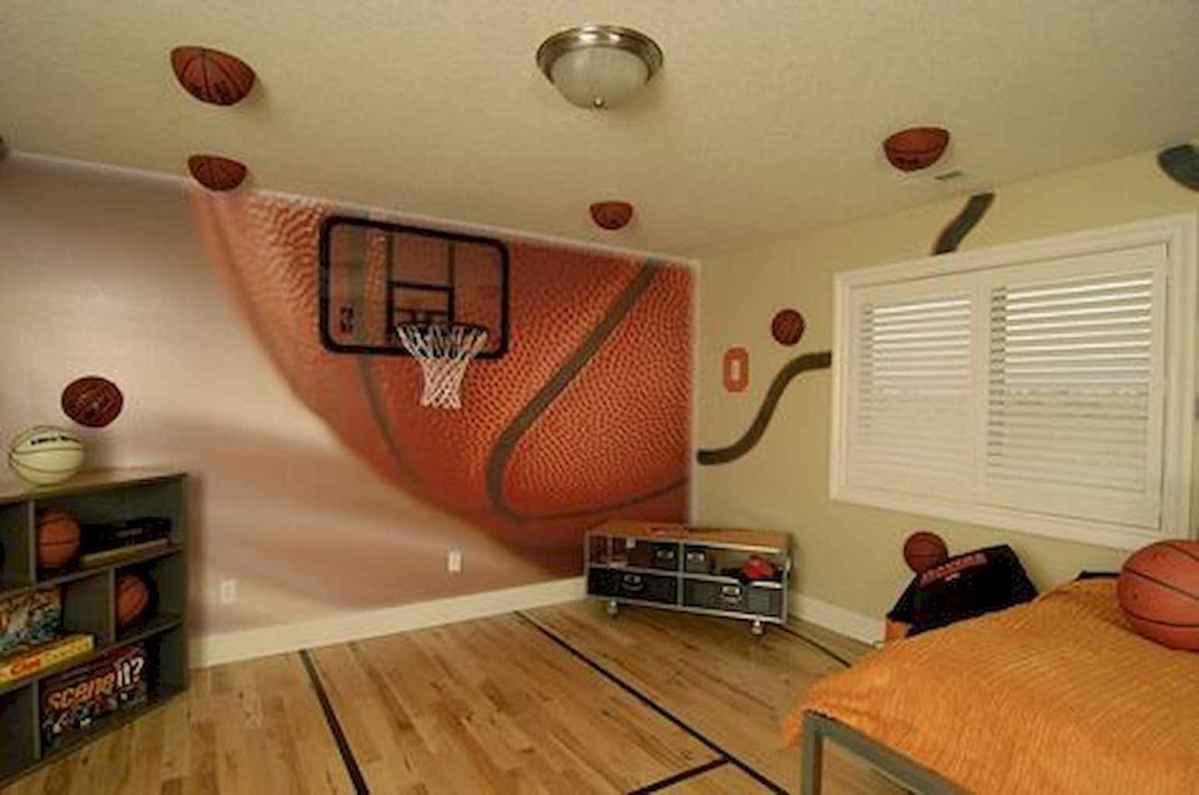 Cool sport bedroom ideas for boys (42)