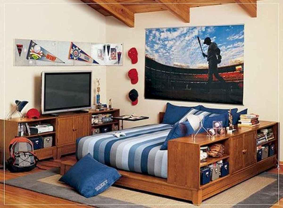 Cool sport bedroom ideas for boys (45)
