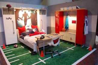 Cool sport bedroom ideas for boys (7)