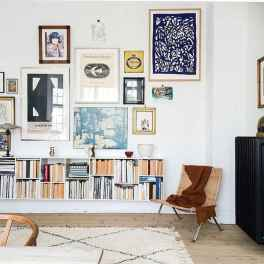 Inspired gallery wall living room (33)