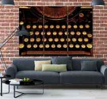 Inspired gallery wall living room (50)