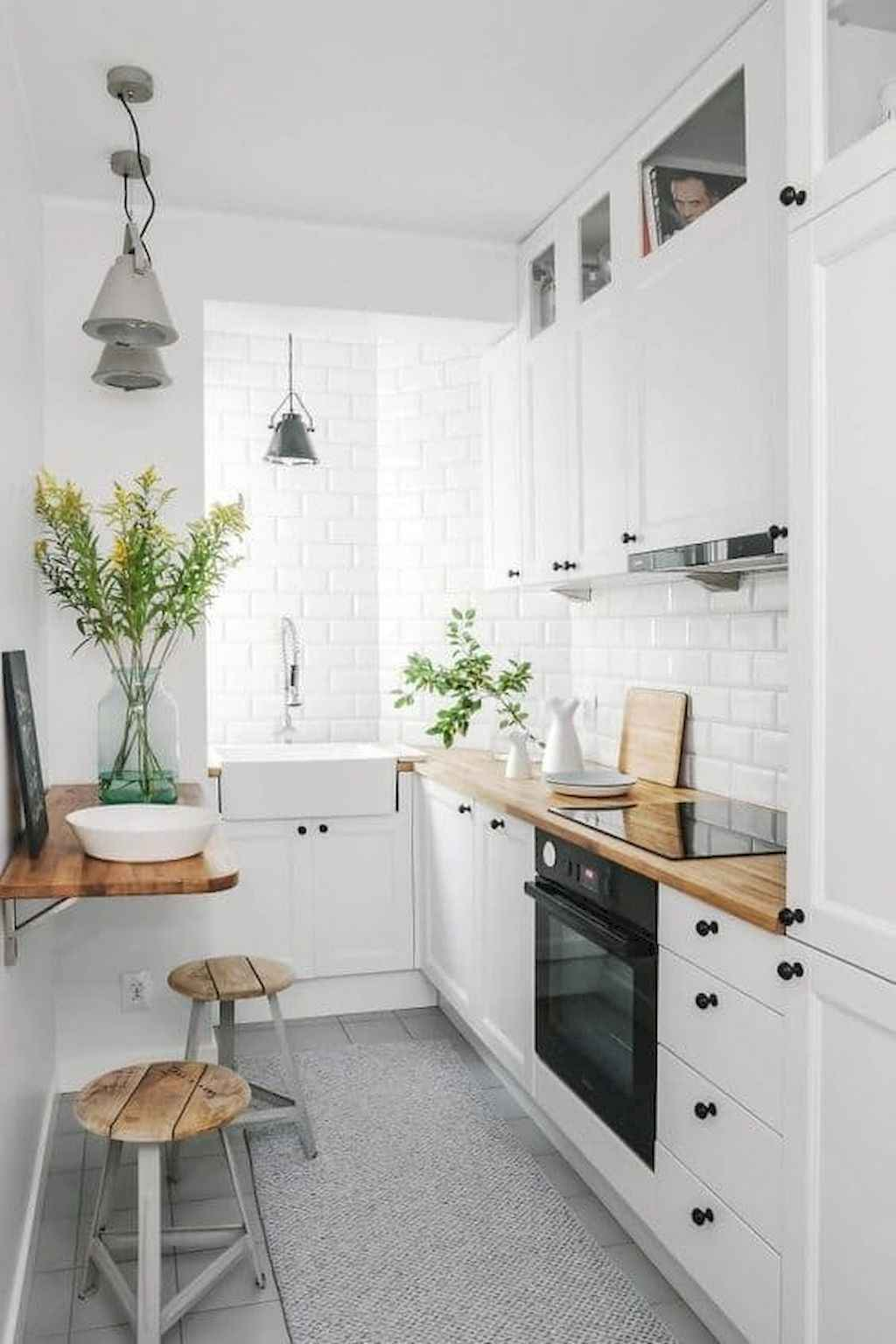 Simply Apartment Kitchen Decorating Ideas On A Budget (31)