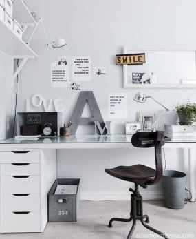 Smart solution for your workspace at home (47)