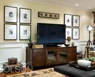 Unique tv wall living room ideas (21)