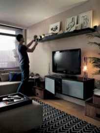 Unique tv wall living room ideas (27)