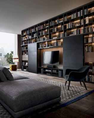 Unique tv wall living room ideas (38)