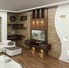 Unique tv wall living room ideas (7)